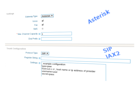 asterisk application