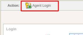 Agent Login