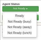 Agent dialling method