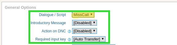 Select dialogue script